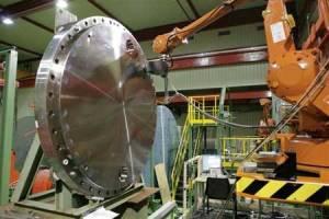 Proceso de fabricación de la tapa de la vasija de un reactor