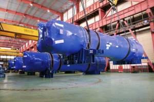Inicio del traslado para su embarque de los generadores de vapor de sustitución para la central estadounidense de Beaver Valley en Pennsylvania.