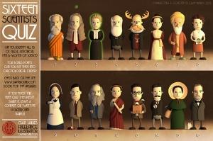 ¿Sabes quienes son estos 16 científicos?. Credit: Chay Hawes