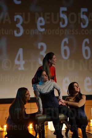 Cuatro de las actrices principales. Credit: Activatuneurona