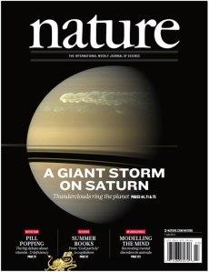 Una de las portadas de Nature lograda por las investigaciones del grupo de Ciencias Planetarias de la UPV/EHU