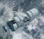 Simulación de la explosión de un satélite en el espacio. Credit. ESA