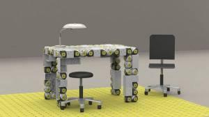 Un robot modular en forma de mesa. Credit: http://estilosn.siliconnews.es