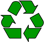 El símbolo del reciclaje es una banda de Möebius. Credit: blogsostenible.wordpress.com