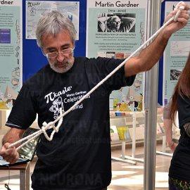 Pedro Alegría en plena demostración. Credit: ACTIVATUNEURONA
