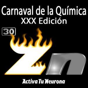 Logotipo de la XXX Edición del Carnaval de la Química. Credit: ACTIVA TU NEURONA