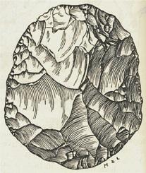 Ilustración firmada por Mary (Douglas) Leakey. Credit: http://slplibrowse.wordpress.com/