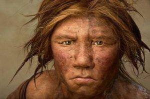 Neandertal de la portada de National Geographic.