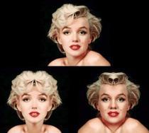 Simetrías de Marilyn
