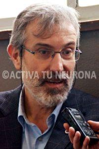 Javier Gómez-Elvira, entrevistado por Javier San Martín. Foto: Izaskun Lekuona