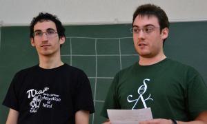 Ricardo Grande y Josué Tonelli-Cueto de PIkasle.Foto: Izaskun Lekuona