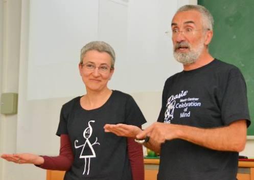 Marta Macho y Pedro Alegria. Foto: © Izaskun Lekuona