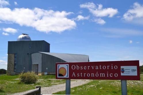 Observatorio astronómico de Cantabria. Foto: © Izaskun Lekuona