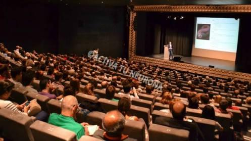 El repleto auditorio de Alhondiga Bilbao. Foto: © Izaskun Lekuona