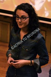 Marta Martín durante la conferencia. Foto: © Javier San Martín