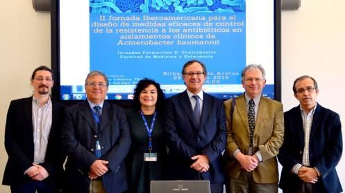 II Jornada Iberoamericana para el diseño de medidas eficaces de contro de la resistencia a los antibióticos en aislamientos clínicos de Acinetobacter baumannii