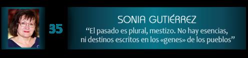 """Sonia Gutiérrez: """"El pasado es plural, mestizo. No hay esencias, ni destinos escritos en los «genes» de los pueblos"""""""