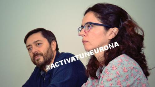 Javier Licandro y Julia de León, investigadores del Instituto de Astrofísica de Canarias - IAC. Foto: © Izaskun Lekuona