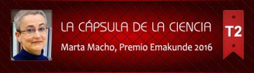 La Cápsula de la Ciencia ® Marta Macho, premio Emakunde 2016